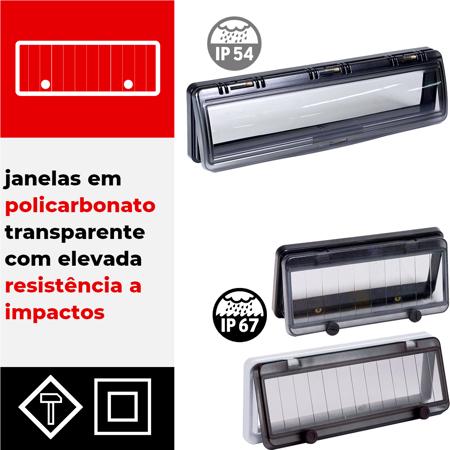 Janelas modulares