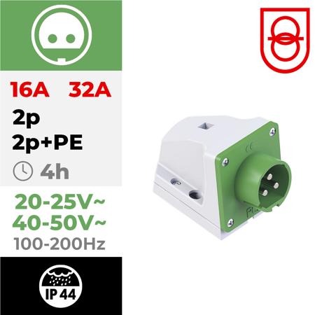 24/48V~ 100/200Hz 4h