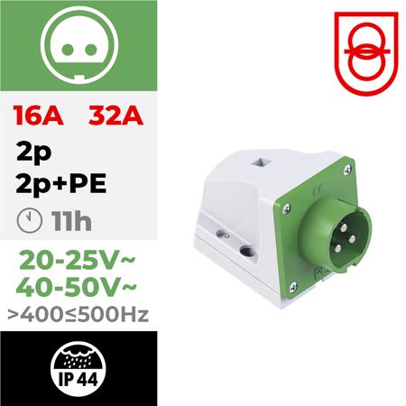 24/48V~ 400>Hz≤500 11h