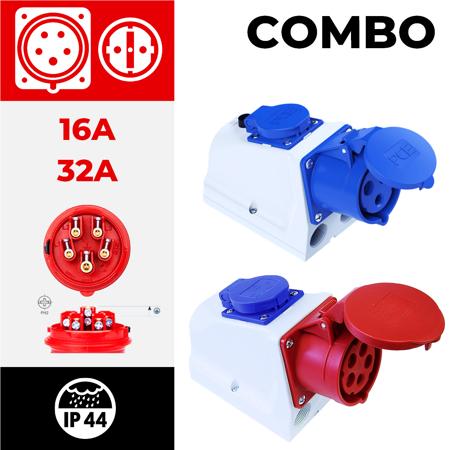 IP44 COMBO